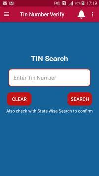 GST TIN Verify captura de pantalla 3