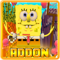 Addon for MCPE - SpongeBob