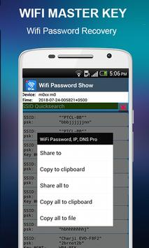 Master Wifi Key Password Show : Wifi Manager screenshot 5