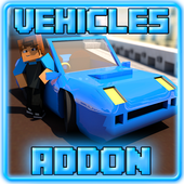 Install App Events action android Vehicles Addon for MCPE 0.16+ hot