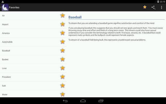 Dream Book (Free) - Dictionary screenshot 14