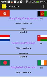 Cricket2016 screenshot 2