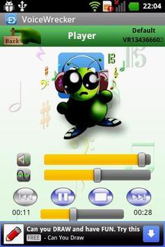 VoiceWrecker+ apk screenshot