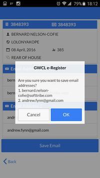 GWCL e-Registration screenshot 6