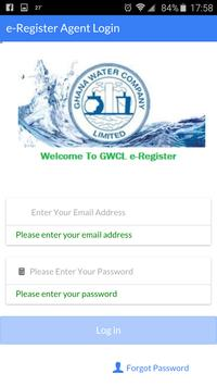 GWCL e-Registration poster