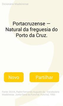Dicionário Madeirense screenshot 1