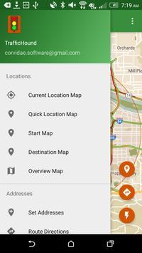 TrafficHound Commute App screenshot 1