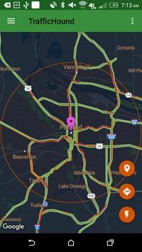 TrafficHound Commute App screenshot 2