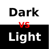 Dark vs Light icon