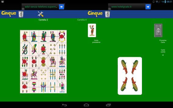 Cinque apk screenshot