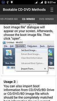 Bootable Methods(USB-CD-DVD) screenshot 1