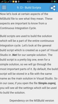 Learn Continuous Integration apk screenshot