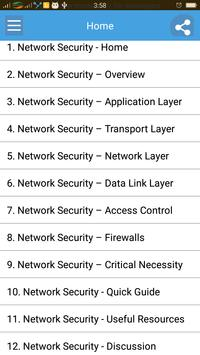 Learn Network Security poster