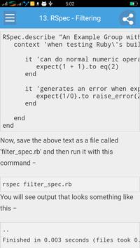 Learn RSpec Full apk screenshot