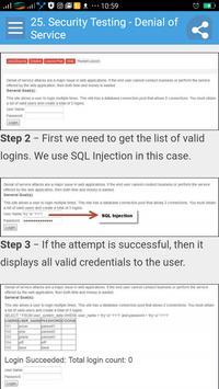 Learn Security Testing screenshot 4