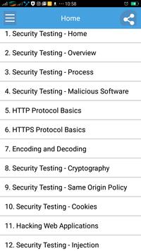 Learn Security Testing poster