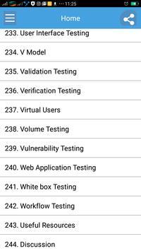 Learn Software Testing Dictionary Full screenshot 2