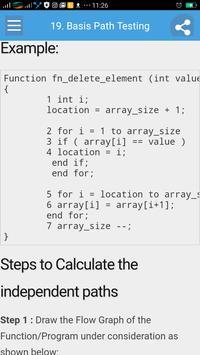 Learn Software Testing Dictionary Full screenshot 3