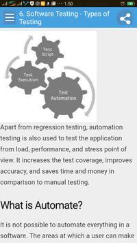 Learn Software Testing apk screenshot