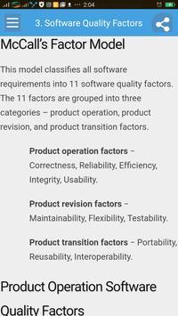 Software Quality Management apk screenshot