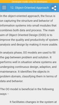 System Analysis and Design screenshot 4