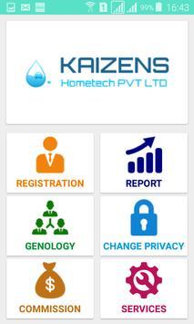 kaizens Hometech PVT LTD screenshot 1