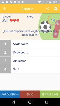 Preguntar: preguntas de cultura general! screenshot 10