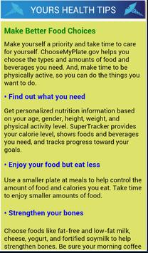 Daily Health Tips poster