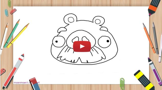How To Draw Angry Birds video poster
