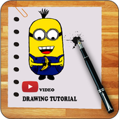 How To Draw DespicableMe Video icon