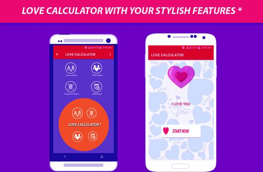 Real Love Calculator screenshot 1