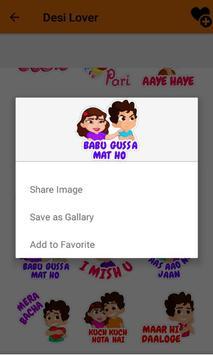 ... Desi Hindi Stickers For Chat apk screenshot ...