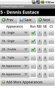 SoftballTracker.com BaseballTracker.com Mobile apk screenshot