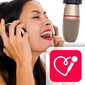 Red Karaoke Sing & Record icon