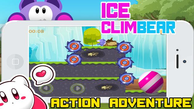 Ice ClimBear - the action tale poster
