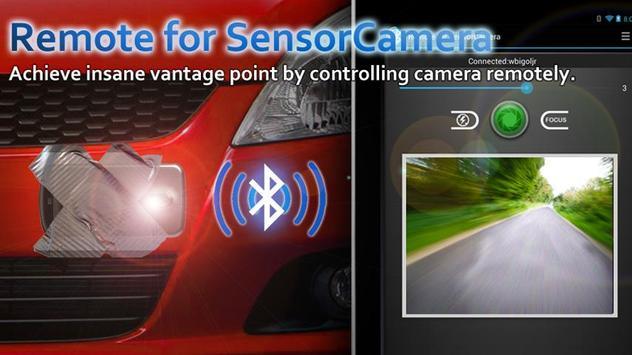 Remote for Sensor Camera poster