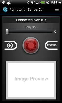Remote for Sensor Camera screenshot 1