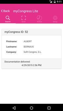 myCongress Lite apk screenshot
