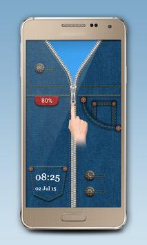 Blue Jeans Zipper Lock screenshot 2