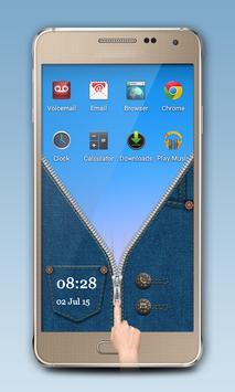 Blue Jeans Zipper Lock screenshot 4