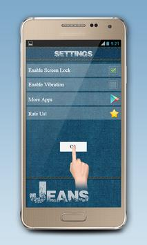 Blue Jeans Zipper Lock screenshot 5