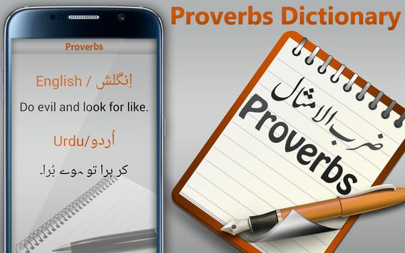 Proverbs Dictionary poster