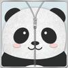 Panda Zipper Screen Lock icon