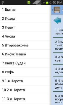 Holy Bible in Russian apk screenshot