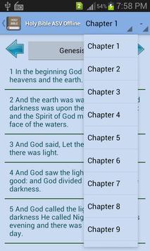 Holy Bible ASV Offline screenshot 2
