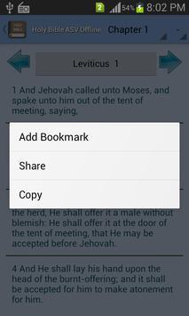 Holy Bible ASV Offline screenshot 6