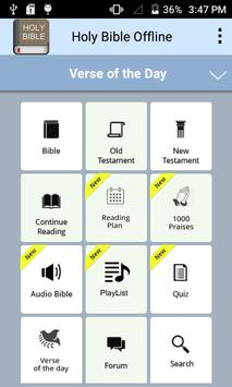Holy Bible Offline poster