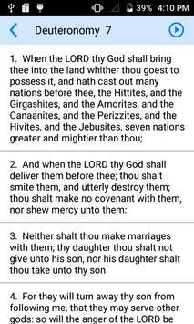 Holy Bible Offline screenshot 1