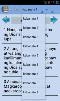 Holy Bible in Filipino apk screenshot