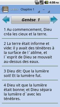 The French Bible -Offline apk screenshot